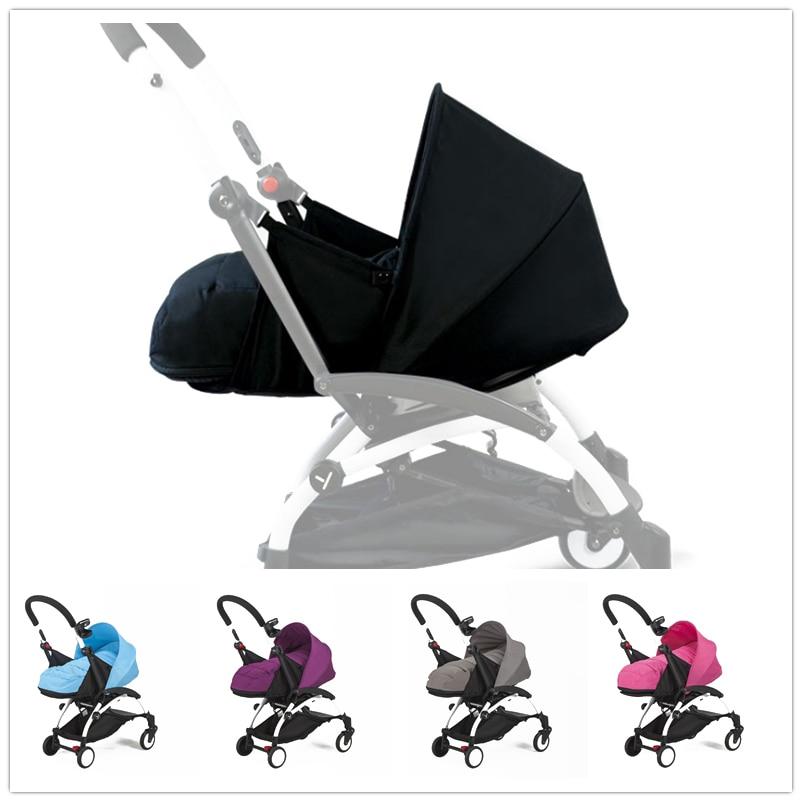 Newborn baby Sleeping Basket Baby Stroller Prams infant Carriage Pushchair Sleeping bag Stroller Accessories fit yoya poussette