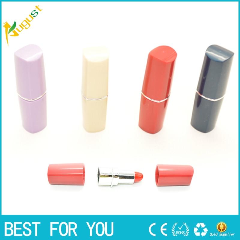 5pcs/lot New Secret Lipstick Shaped Stash Medicine Pill Pills Storage Box Holder Organizer Case Free Shipping