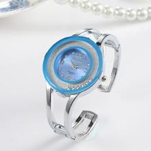 Лидирующий бренд роскошные часы Для женщин Часы браслет Женские часы Полный Сталь часы Saat Баян коль saati Relogio