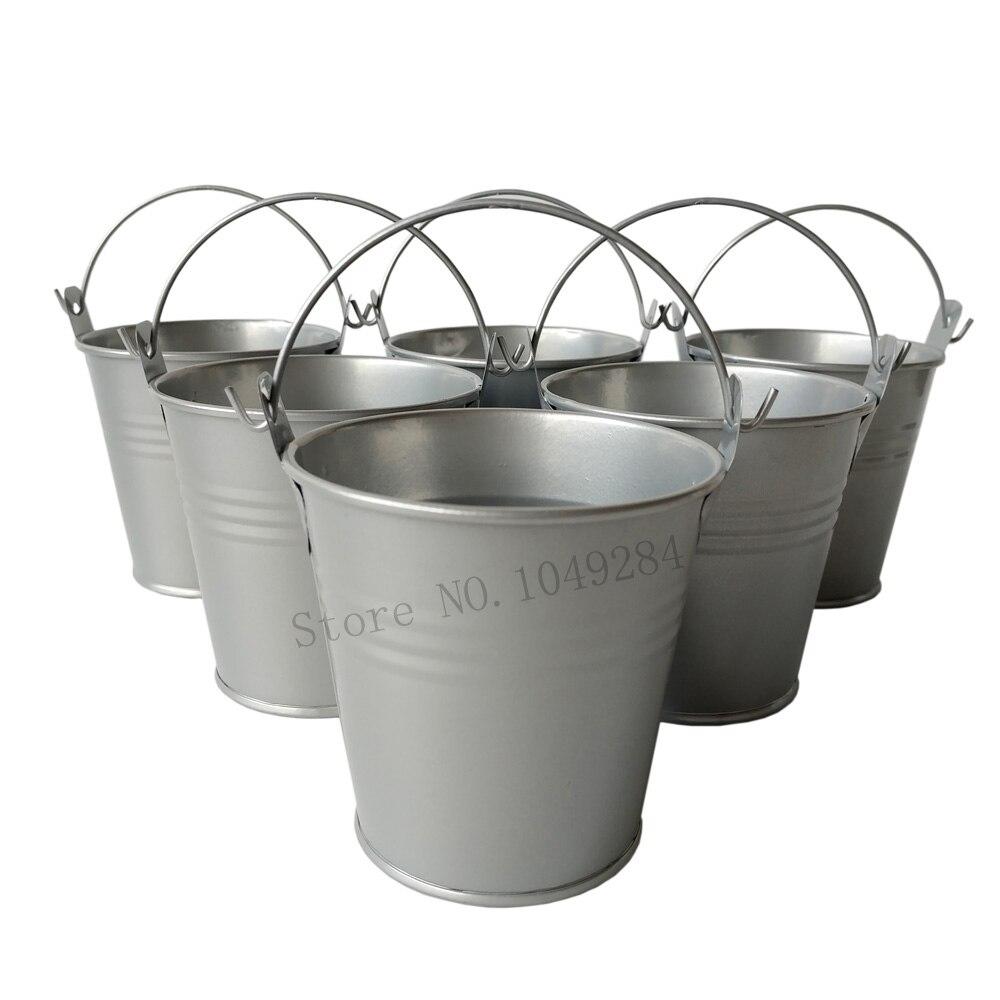 D7 5 h7 5cm free shipping cheap metal buckets wedding for Tiny metal buckets