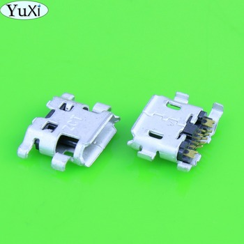 YuXi Micro usb Jack for ASUS NEXUS 7 ME370T ME370TG ME571K ME571KL For Google Micro USB DC Charging Socket Port Connector image