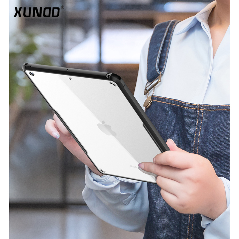 Xundd Transparent Tablet case for iPad pro 10.5 inch Acrylic+ tpu Anti-fall Shockproof back cover for iPad pro10.5 A1701 A1709 Xundd Transparent Tablet case for iPad pro 10.5 inch Acrylic+ tpu Anti-fall Shockproof back cover for iPad pro10.5 A1701 A1709