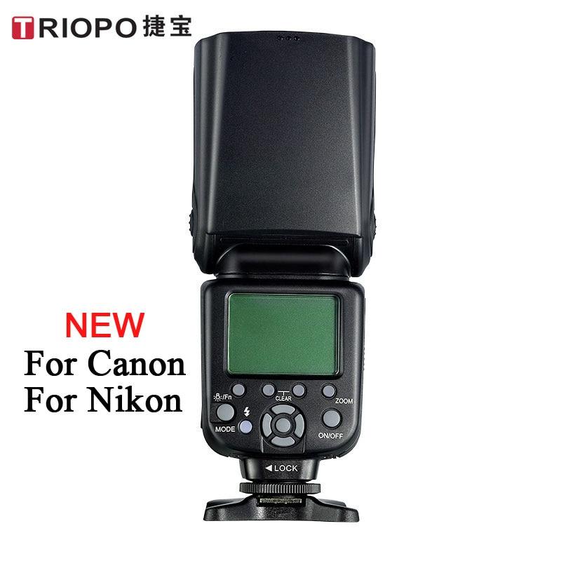 New TRIOPO TR 982 II Wireless TTL Speedlite Master Slave Camera Flash 1 8000 HSS Speedlite