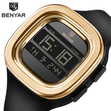 BENYAR Sport LED Digital Watches For Man Luxury Military Army Clock Si