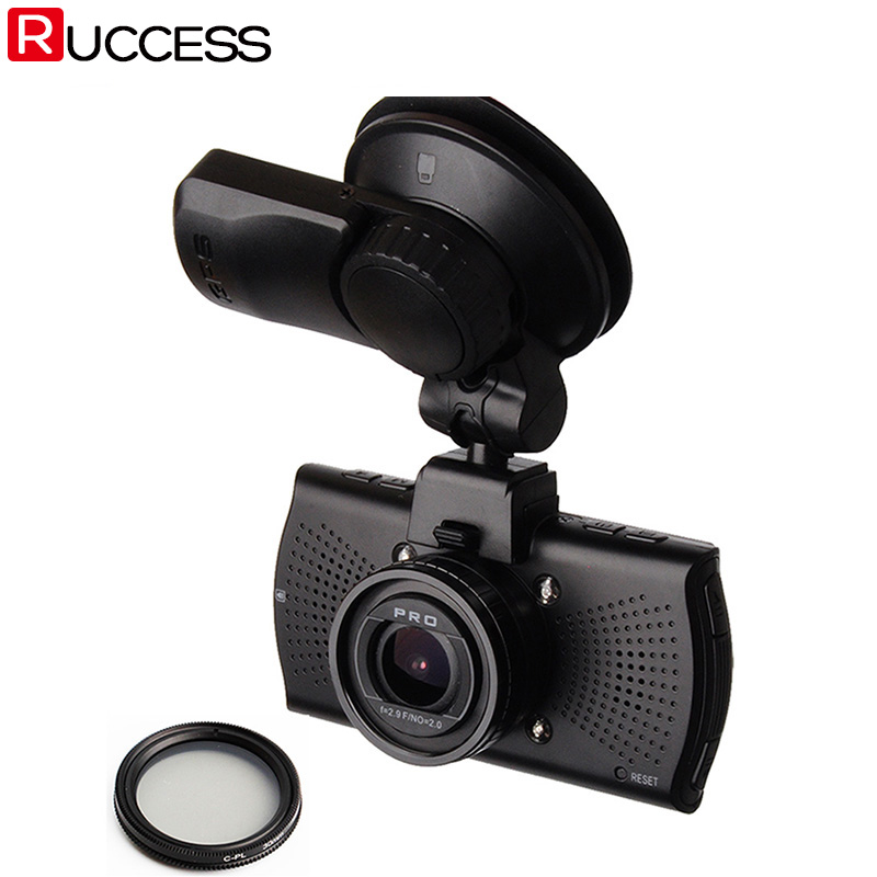 Macchina Fotografica dell'automobile DVR DVRs A7810G Pro Ambarella A7LA70 A7 1296 P Visione Notturna Videocamera LDWS Videoregistratore Con GPS Tracker Speedcam