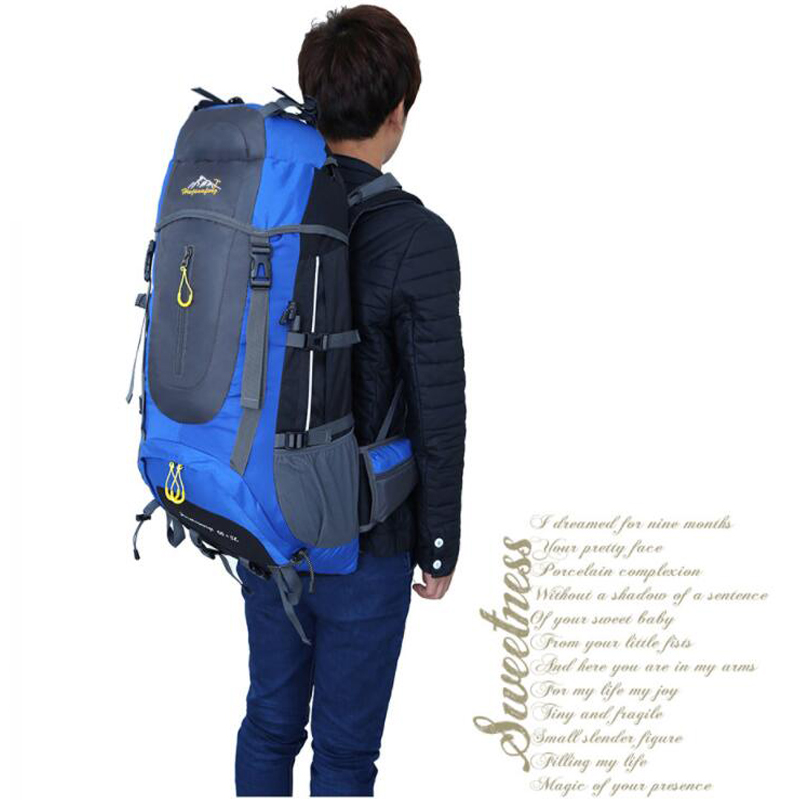 Outdoor Camping Sport Bag For Traveling Travel Backpack Male Waterproof Bag Beach Big Rucksack Outdoorer Male Bags Men's Bags 5