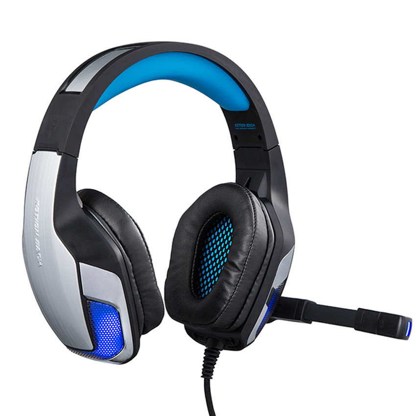 big BASS KOTION EACH G5300 Gaming Headphones Headsets With Microphone Wired Led Light Fo ...