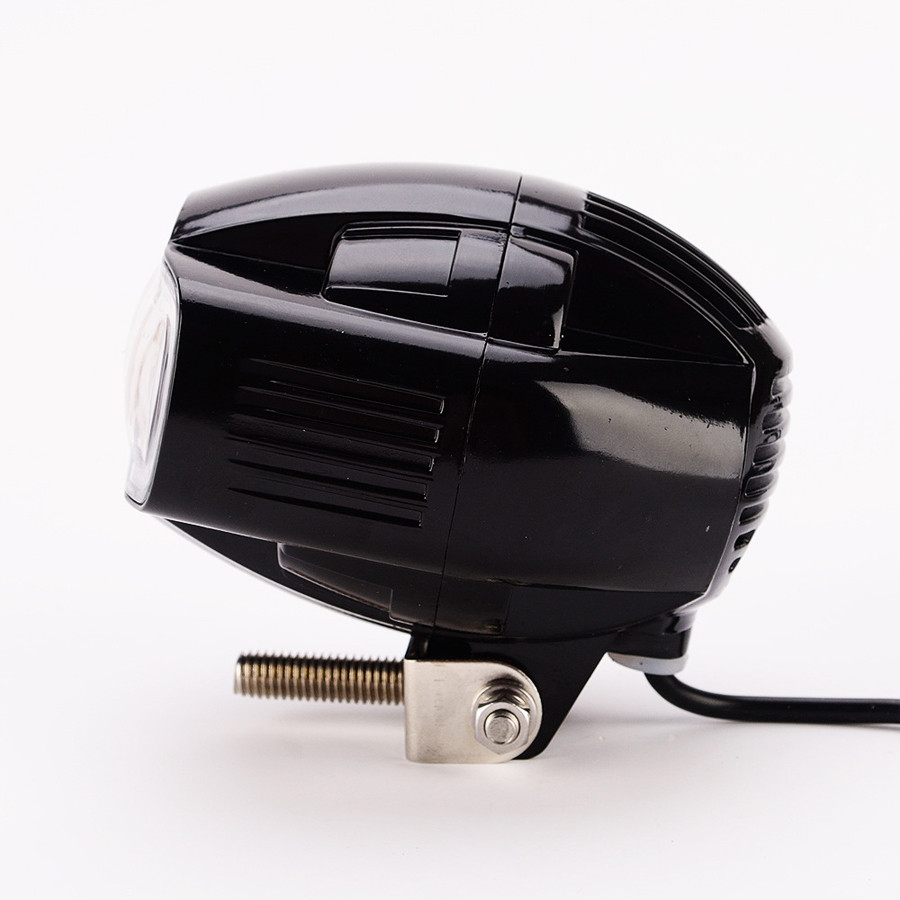 2019 Newest 12V LED Motorcycle Headlight With USB Charger