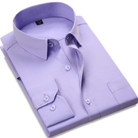 Shirt Men Clothes 2017 Spring Autumn Cotton Mens Dress Shirts Business Formal Male Social Shirt Slim
