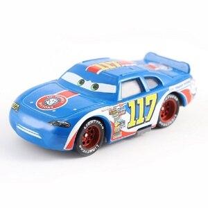 Image 2 - Auto Disney Pixar Cars 3 39 Stijlen Lightning McQueen Mater Jackson Storm Ramirez 1:55 Diecast Metaal Legering Model Speelgoed Auto gift