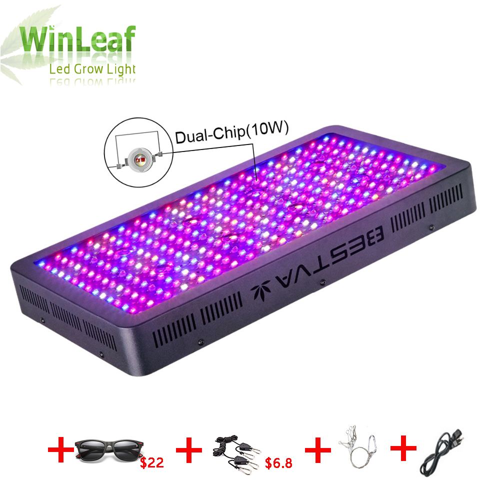 Led Grow Light Full Spectrum 600w 1000w 1200w 1500w 1800w 2000w for Indoor Tent Greenhouses Hydroponics Flowering Led Lights image