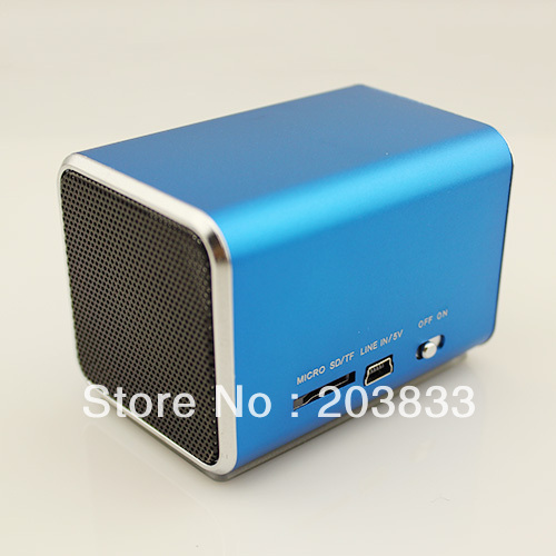 Free shipping + New Music Portable Mini USB Micro SD/TF Mp3 Player without screen digital computer speaker