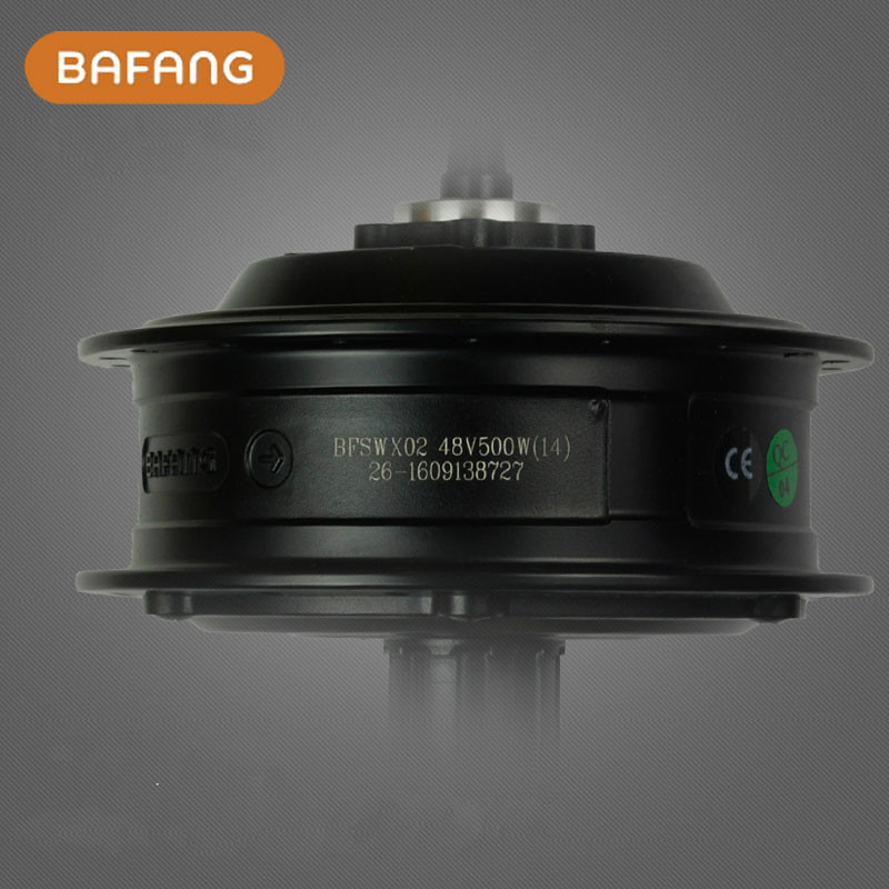 8fun/bafang Brushless Geared Dc Cassette Latest Rear Hub Motor 48v 500w  For Electric Bicycle Ebike eunorau 48v500w electric bicycle rear cassette hub motor 20 26 28 rim wheel ebike motor conversion kit