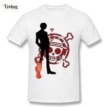 Custom Boy One Piece Ace T-Shirts Cotton Plus Size Cartoon T Shirts