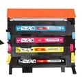 4 pçs/set para samsung clt-k407s compatível impressora de cartucho de toner para samsung clp-320 clx-3185 320n 325 325 w 3185fn 3185fw