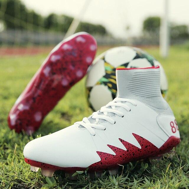 4f733b5fd3754 Fanshawe Venta caliente nuevos zapatos de fútbol FG Botas original tobillo  profesional Futsal fútbol sneakers size39