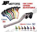 CNC Long Adjustable Brake Clutch Lever For Kawasaki Z750 (Not for Z750S) 2007 - 2012 2008 2009 2010 Z800 E Version 2013 2014