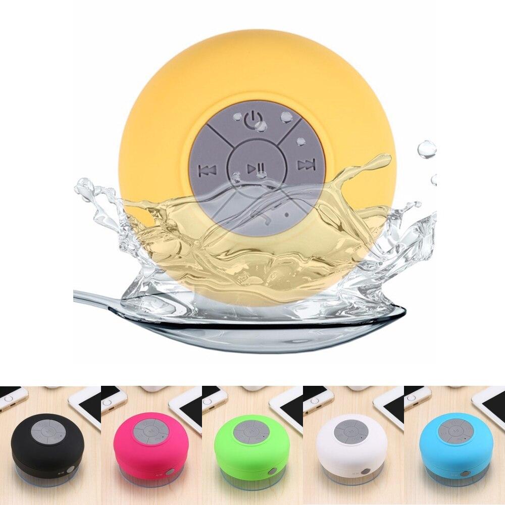 Mrs win Wireless Bluetooth Speaker Portable Mini Waterproof Shower Speakers w/ Handsfree Car Speaker for Phone MP3 Music Player