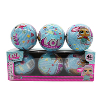 3 6 Pcs Box LOL Dolls Dress Up Toys Funny Dolls New Educational Novelty Kids Unpacking