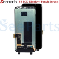 For Samsung galaxy S8 Lcd Display S8 LCD Display Touch Screen Digitizer Assembly For Samsung S8 lcd G950 G950F G950U G950W8 LCD