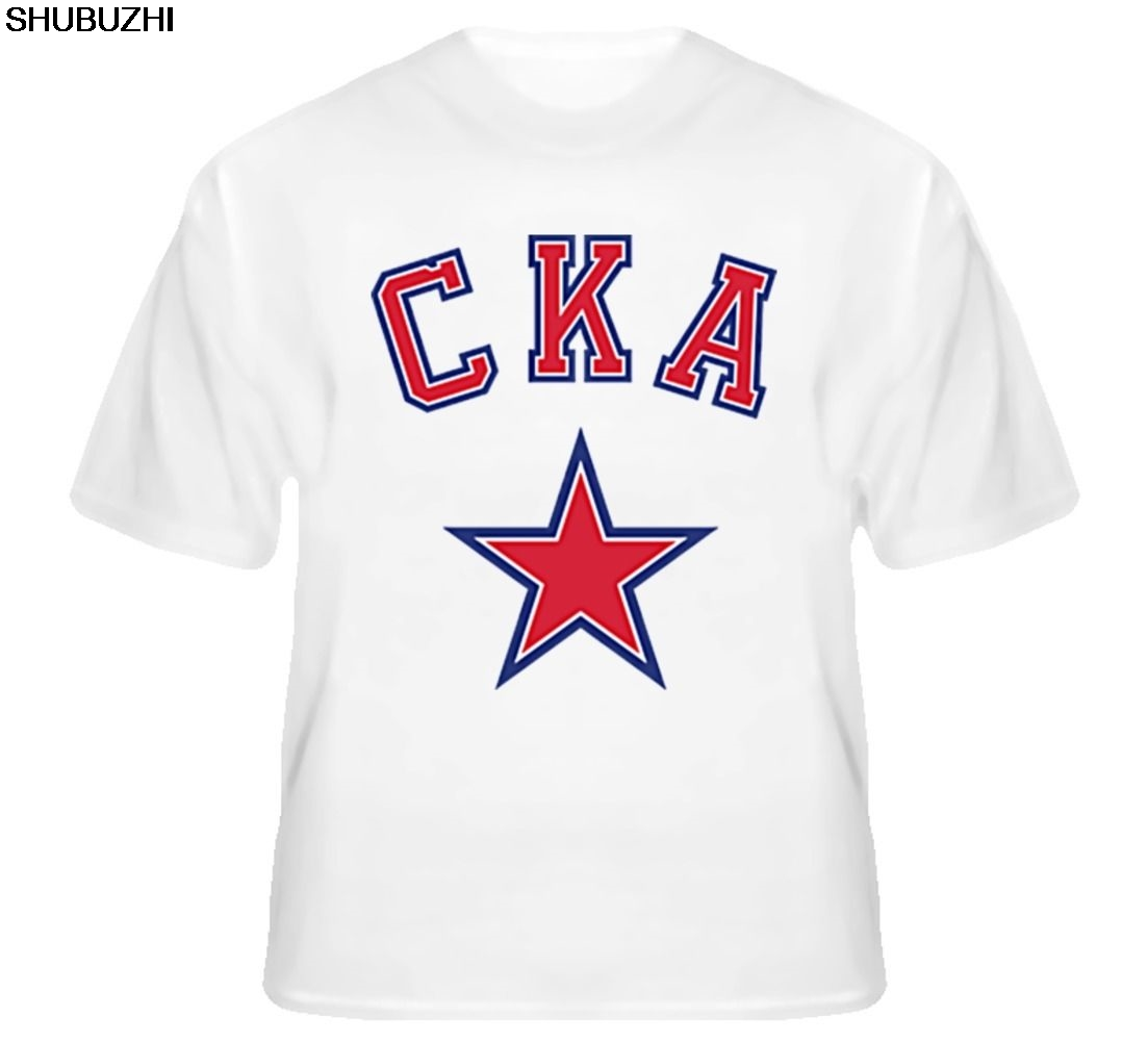 Ak Bars Kazan Khl Russian Professional Hockey Black T-shirt New Russia Men Fan Apparel & Souvenirs Shirts