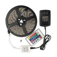 5050SMD RGB Led Strip Light Fita De 5M 300led RGB Tape Diode Feed Tiras Lampada Ac