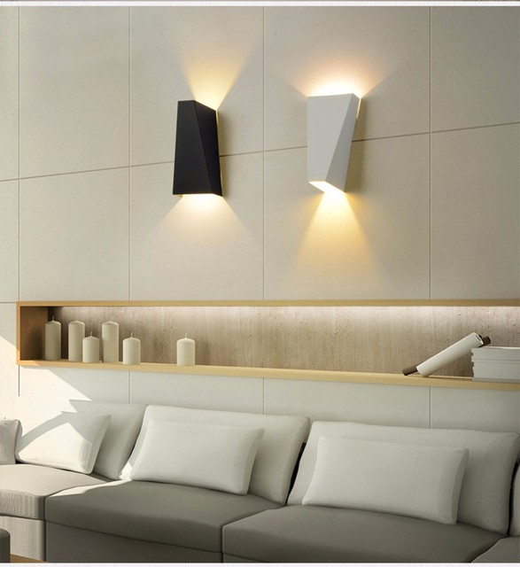 6 W LED licht Mode metalen wandlamp indoor verlichting bedlampjes ...