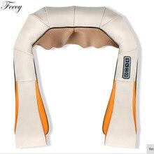 Массажер для шеи Электрический u-образный массажер для шеи шиацу плечо назад массажеры для спины шеи ноги автомобиля домашнего использования массаж