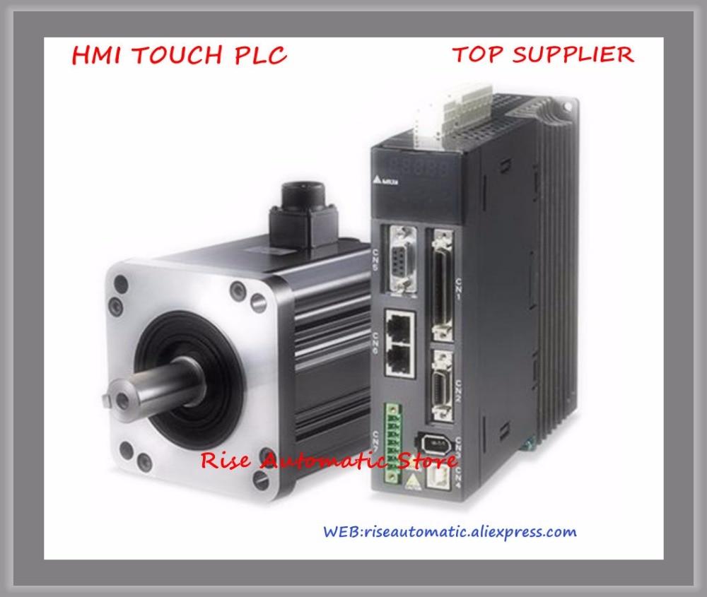 New Original 400w 1.27NM 3000rpm 17bit 60mm 220v Servo Motor Drive ECMA-C20604RS+ASD-B2-0421-B sgmjv 04ade6s sgdv 2r8a01b 400w 0 4kw 200v servo system new original