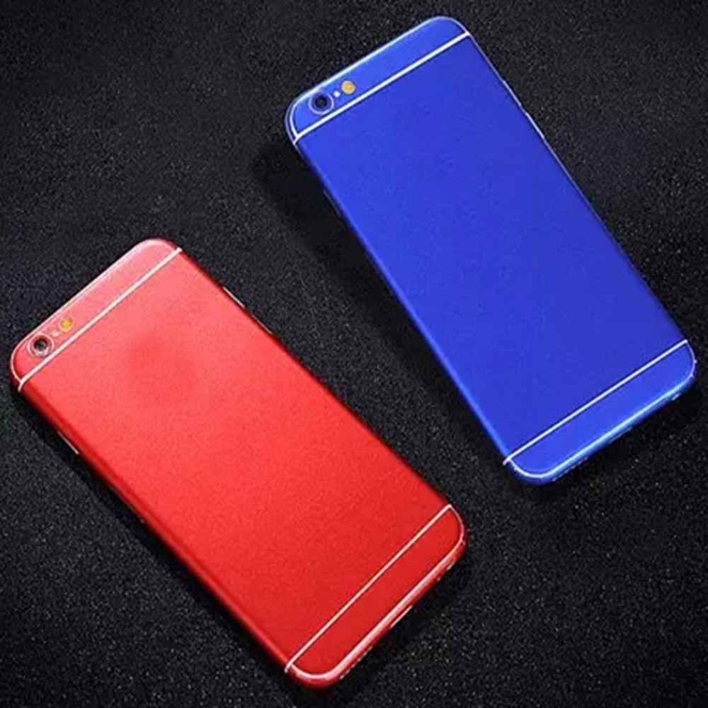 Matter Metal Gold Silver Black Red Blue Mobile Phone Full Body Cover Case Iphone 6 6s Matte Protective Hard For Golden Film Sticker 5 5s Plus S21 On Alibaba