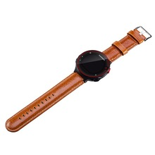 replacement watchband for Garmin Forerunner 220 230 235 630 620 735 watch leather strap garmin foreunner