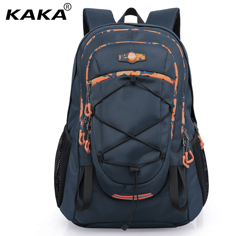 KAKA Brand Design Men Waterproof 15.6 17 Laptop Backpacks Women Travel School Computer Backpack for Teenager Boys Bags Big kingsons brand waterproof men women laptop backpack 15 6 inch notebook computer bag korean style school backpacks for boys girl