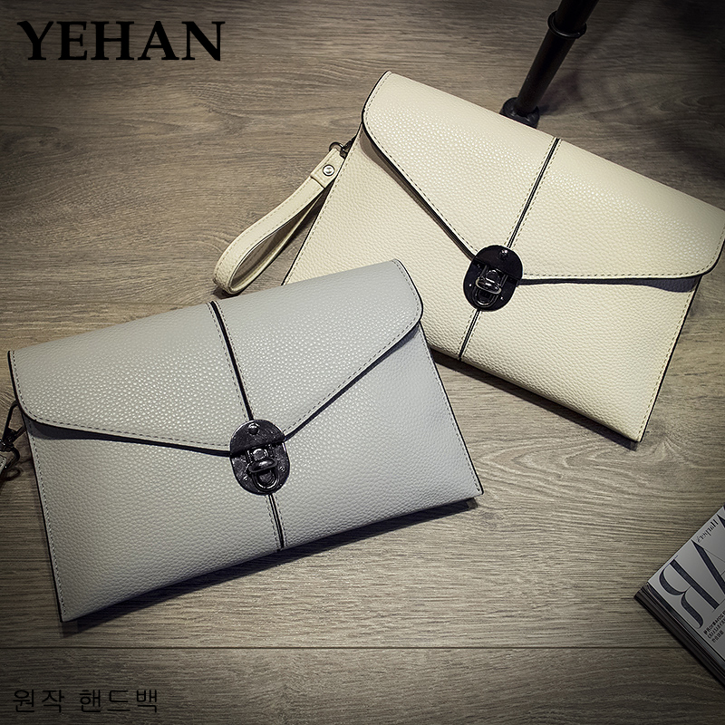 2016 New Women's Envelope Clutch Party Evening Bag Ladies Leather Handbags Shoulder Messenger Bags For Women Purse Wallet female new arrival women messenger bags genuine leather female shoulder bags girls satchels envelop handbags lady clutch evening bag