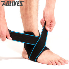 Aolikes factory S elastic nylon strap ankle support brace badminton basketball football fitness heel protector gym equipment