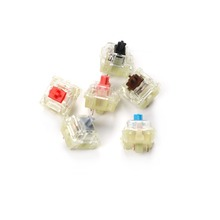 Wholesales Authentic SMD RGB Cherry mx switch 3 pin Mechanical keyboard speed silver silent red blue pink Switches