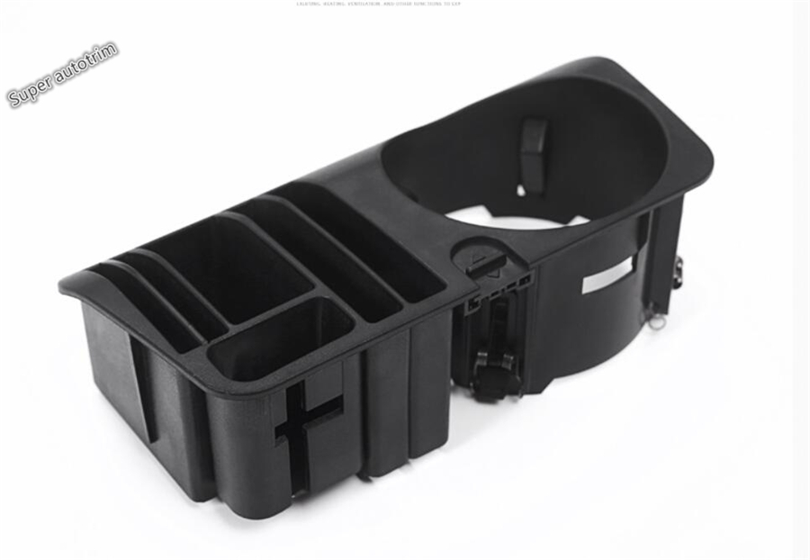 Lapetus Multifunction Container Box Storage Phone Tray Accessory Fit For Mercedes Benz E CLASS W213 2016 2017 2018 2019