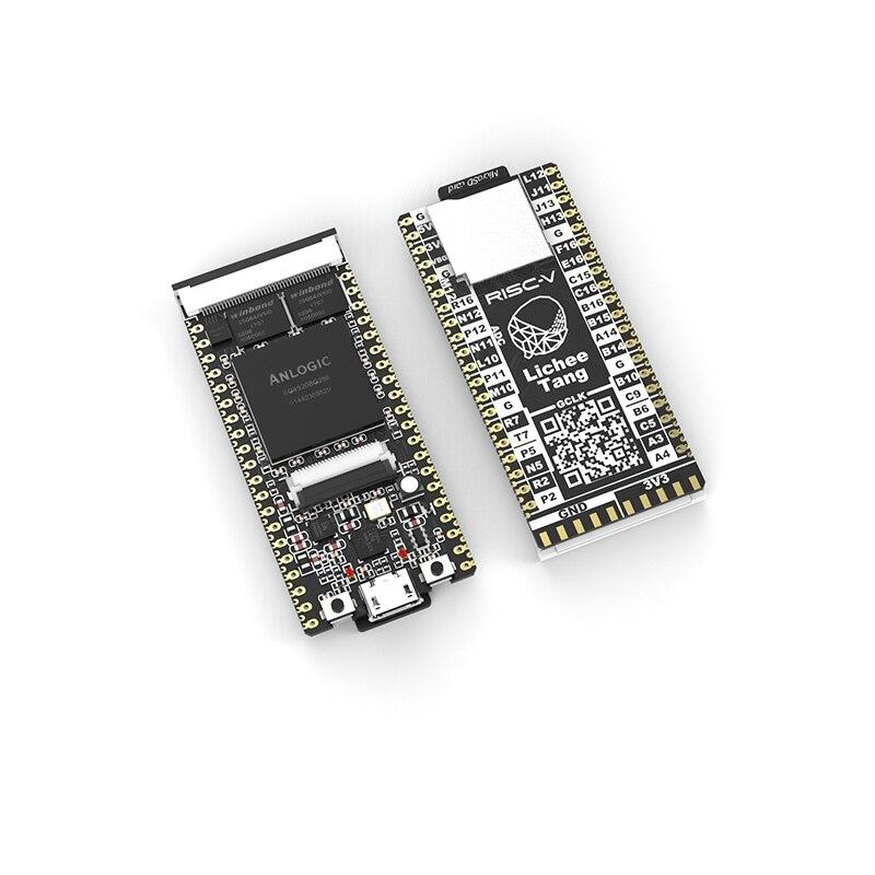 Micro Usb Lichee Tang risc v FPGA Development Board 32 Bits Width 64MBit SDRAM 12-bit 1MSPS ADC  RISC-V Core Board with RGB LEDMicro Usb Lichee Tang risc v FPGA Development Board 32 Bits Width 64MBit SDRAM 12-bit 1MSPS ADC  RISC-V Core Board with RGB LED