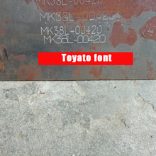 Toyota Chassis Number Vin Stamping Machine Marker On