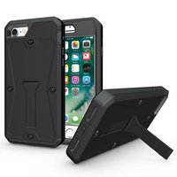 Tank Stand Case For IPhone 5 6 7 Plus Samsung Galaxy S6 S7 Edge HTC LG
