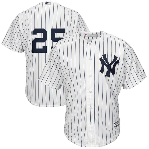 Men's New York Yankees Gleyber Torres White Official Cool Base Jersey