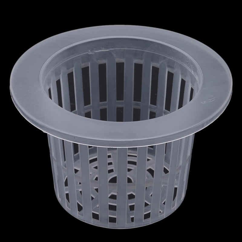 Creative Mesh Pot Net Cup Vegetable Grow Basket Aquaponics Cup Hydroponic Pot Aeroponic Basket Green Thumb Planting Root