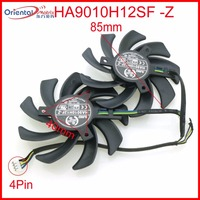 Free Shipping HA9010H12SF Z 12V 0 57A 85mm 40 40 40mm 4Wire 4Pin For MSI GTX1050TI