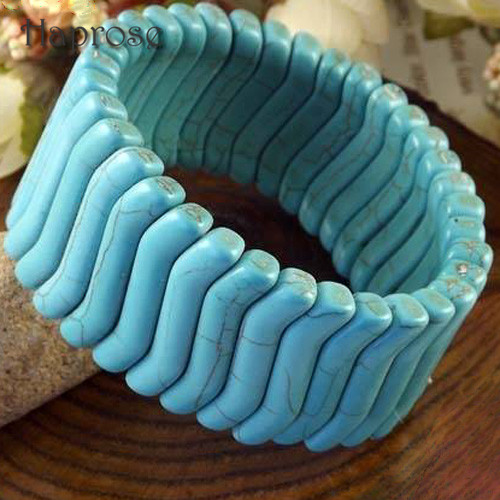 New fashion small S shape Bohemian beads bracelet bangle factory direct sale Haprose Gifts TB01