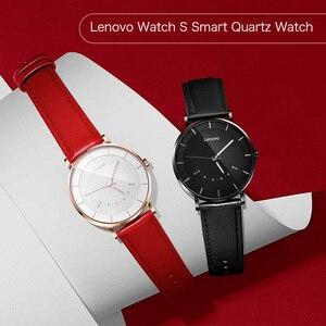 Image 4 - 레노버 스마트 시계 패션 쿼츠 시계 시계 지능형 알림 50M 방수 긴 배터리 수명 스포츠 Smartwatch