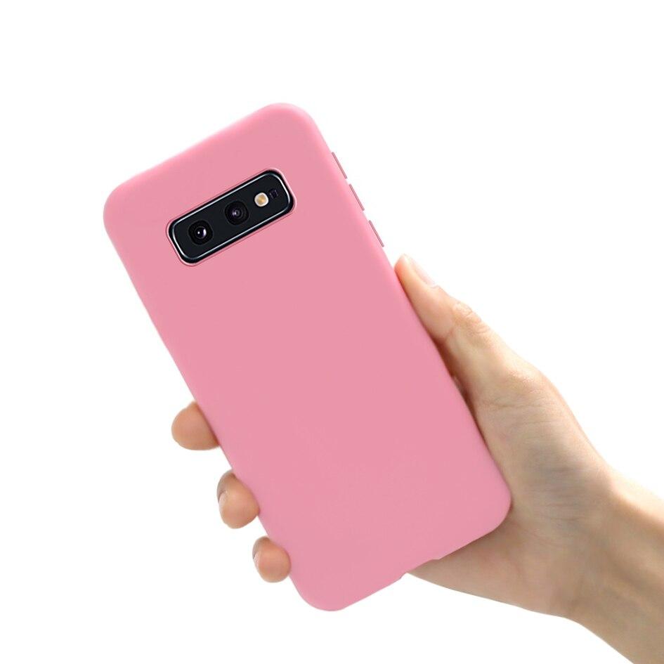 For Samsung Galaxy S10e Case Samsung S10E Cover Colorful Cute Matte Soft Case For Protector Samsung Galaxy S10E GalaxyS10e Coque