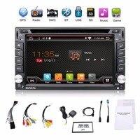 Universal 2 Din Android 6 0 Car DVD Player GPS Wifi Bluetooth Radio Quad 4 Core