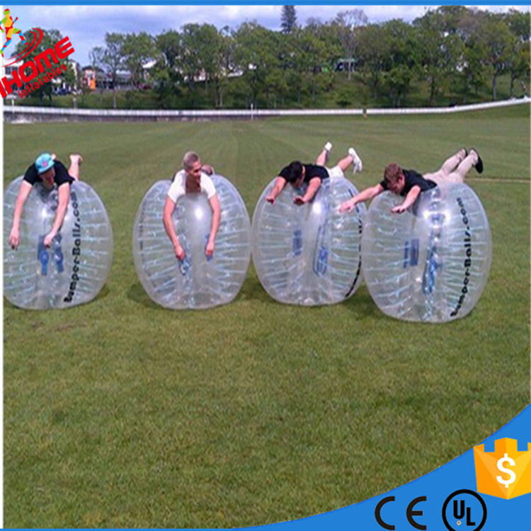 1.8m PVC Air Bumper Ball Body Zorb giant bubble ball durable bubble ball For Sale
