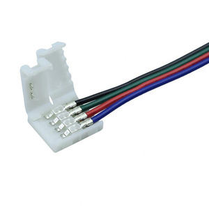 5-100 stücke led stecker draht 2pin 3pin 4pin 5pin 6pin stecker Kabel Für WS2811 WS2812B 5050 RGB RGBW LED streifen Licht