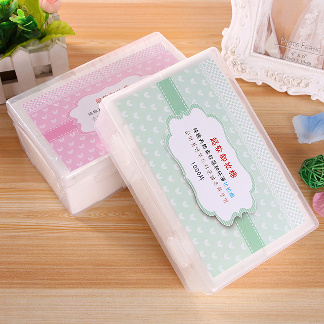 Template Boxed 1000 pieces. Makeup Cotton take Evening Dress Jewelry Cotton pure cotton Ultrathin On Moisturizing Makeup Tool