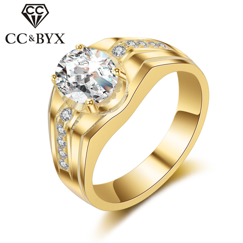 CC S925 Silver Hombres Anillo Rings For Men Fashion Jewelry Love Promise Oval Egg Shape Bridegroom Wedding Engagement Ring CC687
